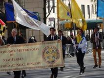 Van de de Onafhankelijkheidsdag van NYC Grieks de Parade 2016 Deel 6 22 Royalty-vrije Stock Foto's