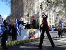 Van de de Onafhankelijkheidsdag van NYC Grieks de Parade 2016 Deel 6 45 Stock Afbeelding