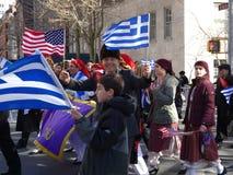 Van de de Onafhankelijkheidsdag van NYC Grieks de Parade 2016 Deel 6 52 Stock Afbeelding