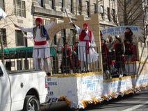 Van de de Onafhankelijkheidsdag van NYC Grieks de Parade 2016 Deel 6 60 Royalty-vrije Stock Afbeelding