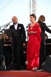 Van de de operaster van het operaduo Italiaanse caputo van Aldo, teneur, schillaci (La-scala, Italië) discant en van Daniela, op  Royalty-vrije Stock Fotografie
