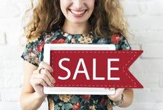 Van de de Overeenkomstenkorting van de verkoophandel de Bevorderingsconcept Royalty-vrije Stock Foto
