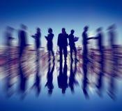 Van de de Overeenkomstenovereenkomst van de bedrijfsmensenhanddruk de Samenwerking C Stock Afbeeldingen