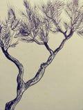 Van de de schetskunst van de tekeningsillustratie trippy psychadellic willekeurige koel pics Royalty-vrije Stock Afbeelding