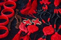 Van de de Stadsherinnering van Hubeienshi de winkel van de tegenhangerjuwelen Royalty-vrije Stock Foto