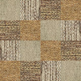 Van de de stoffentextuur van de kameelwol het patrooncollage in een schaakbordorde Stock Afbeelding