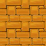 van de de textuur mooi banner van de steenmuur naadloos het behangontwerp IL vector illustratie
