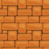 van de de textuur mooi banner van de steenmuur naadloos het behangontwerp IL stock illustratie