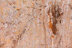 De textuur van de roest Stock Afbeelding