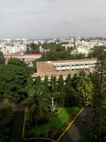 van de de universiteitscampus van Christus mooie de scènefotografie van Bangalore skyview Royalty-vrije Stock Afbeeldingen