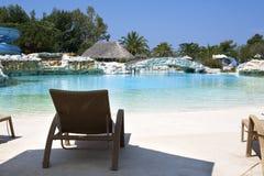 Van de de vakantietoevlucht van de luxe de poolgebied Stock Foto