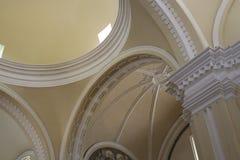Van de de Veronderstellingskathedraal van Mary ` s het arquitectonic plafond, Leon Royalty-vrije Stock Afbeelding