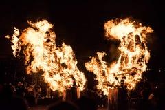 Van de de Zonnestilstandparade van Toronto het Brandende Beeltenis Stock Foto's