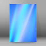Van de Dekkingspagina's van de achtergrondrapportbrochure de stijl abstracte glow29 A4 Stock Fotografie