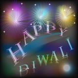 Van de Diwalivakantie grafisch ontwerp als achtergrond Royalty-vrije Stock Afbeeldingen