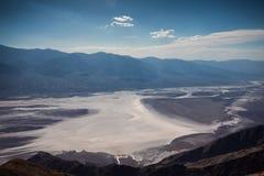 Van de de Doodsvallei van de Dante` s Mening het Nationale Park Royalty-vrije Stock Afbeelding