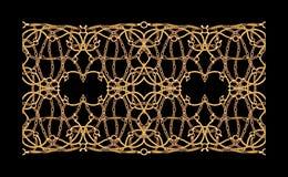 Van de de Drukillustratie van de waterdaling Textiel Geometrisch kunstwerk als achtergrond stock illustratie