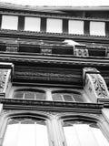 Van de gebouwencheshire van Chester van het tudordetail leaded vensters Royalty-vrije Stock Afbeelding