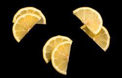 Van de helft van citroen Stock Foto's