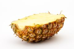 Van de helft van ananas Royalty-vrije Stock Foto's
