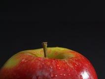 Van de helft van appel stock foto's