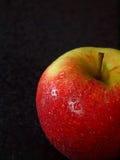 Van de helft van appel royalty-vrije stock afbeeldingen