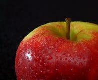 Van de helft van appel stock fotografie