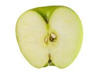 Van de helft van appel Stock Afbeeldingen
