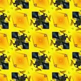 Van de van de het Achtergrond patroon Abstracte Werveling van Ikatogee het Naadloze Verpakkende Document Gray Hot Pink Swirl Desi stock illustratie