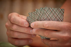 Van de het casinoflits van speelkaarten de koninklijke spades Royalty-vrije Stock Afbeeldingen