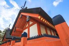 Van de het Heiligdom het beroemde tempel van Sumiyoshitaisha oriëntatiepunt van het de reistoerisme van Osaka Japan royalty-vrije stock afbeelding