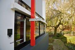 Van de het Huis (1923-1924) Kruidenierswinkel van Rietveld de leveringssysteem Schröder Stock Afbeelding