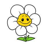 Van de het karakterinstallatie van het bloem vrolijke madeliefje het beeldverhaalillustratie stock illustratie