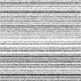 Van de het lawaaiband van de lawaai het naadloze textuur videosignaal vector illustratie