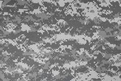 Van de het leger stedelijke digitale camouflage van de V.S. de stoffentextuur Stock Afbeelding