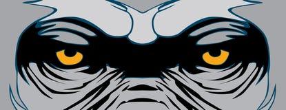 """Van de het ontwerp†""""voorraad illustratie van de gorilla het vectort-shirt dossier van de de voorraadillustratie †"""" Royalty-vrije Stock Afbeeldingen"""