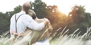 Van de het Paarhartstocht van de liefdesamenhorigheid de Verhoudingsconcept royalty-vrije stock afbeelding