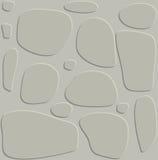 Van de het speltextuur van de steenmuur ontwerp van het de bannerbehang het mooie illust stock illustratie