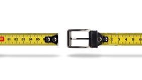 Van de het verliesmaatregel van het gewicht de riemhiaat Stock Afbeeldingen