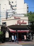 Van de hoekpugliese van het Caférestaurant de tangohoek in de buurt van Buenos aires van Boedo Buenos aires Argentinië royalty-vrije stock foto's