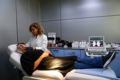 Van de de huidbehandeling van het schoonheidscentrum de kliniekchirurgie wijd royalty-vrije stock fotografie