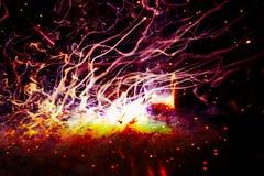 Van de de Kerndraad van het verwezenlijkingsplasma Dubbele het Voeruitdrukking stock afbeelding