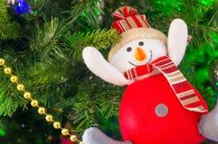 van de Kerstmishaan van 2017 van de vakantiekerstmis heldere van de het jaarwinter de traditiester als achtergrond Royalty-vrije Stock Foto