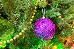van de Kerstmishaan van 2017 van de vakantiekerstmis heldere van de het jaarwinter de traditiester als achtergrond Royalty-vrije Stock Foto's
