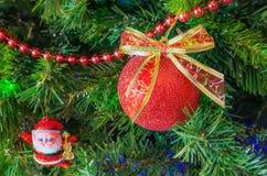 van de Kerstmishaan van 2017 van de vakantiekerstmis heldere van de het jaarwinter de traditiester als achtergrond Stock Afbeelding