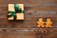 Van de Kerstmisheden en peperkoek koekjes Royalty-vrije Stock Foto's