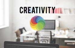 Van de Kleurencolorscheme van CMYK RGB de Creativiteitconcept Royalty-vrije Stock Afbeeldingen