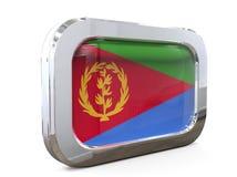 Van de de Knoopvlag van Eritrea 3D illustratie Royalty-vrije Stock Fotografie
