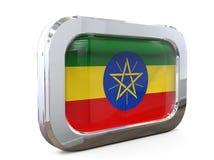 Van de de Knoopvlag van Ethiopië 3D illustratie Royalty-vrije Stock Fotografie