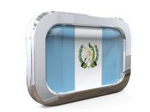 Van de de Knoopvlag van Guatemala 3D illustratie Stock Foto's
